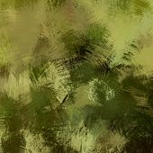 art abstract colorful  grunge graphic background in olive, green, black and brown colors