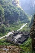Tienfu Penthouse at Wulong National Park, Chongqing, China