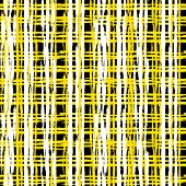 foto of cross-hatch  - Vintage striped seamless pattern with crossing brushed lines in bright colors - JPG