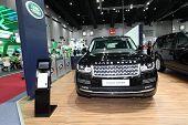 Bangkok - August 19: Range Rover Car On Display At Big Motor Sale On August, 2014 In Bangkok, Thaila
