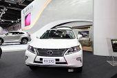 Bangkok - August 19: Lexus Rx270 Car On Display At Big Motor Sale On August, 2014 In Bangkok, Thaila