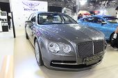 Bangkok - August 19: Bentley The New Flying Spur Car On Display At Big Motor Sale On August, 2014 In