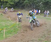 Motocross In Sariego, Asturias, Spain..