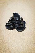 Beach Black Sandals