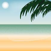 Illustration Of Seaside