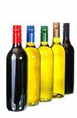 Wine, Set Bottles Of Wine