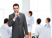 stock photo of hush  - business - JPG
