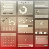 Set elements used for user interface