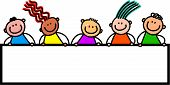 Happy Banner Kids
