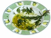 Garlic And Herb Infused Olive Oil