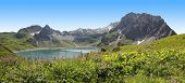 View To Lunersee And Brandner Glacier, Austria