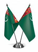 Turkmenistan - Miniature Flags.