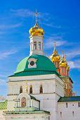 image of trinity  - Church in the Trinity Sergius Lavra in Sergiev Posad  - JPG