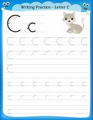 Writing Practice Letter C