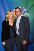 LOS ANGELES - JAN 16:  Monica Potter, Peter Krause at the NBC TCA Winter 2015 at a The Langham Huntington Hotel on January 16, 2015 in Pasadena, CA