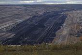 Soft Coal Open Cast Mining Hambach (germany)