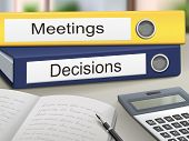 Meetings And Decisions Binders