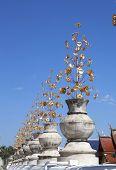 Artificial Flower Leaf's Temple.