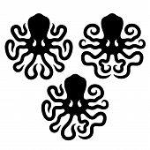 Octopus design elements