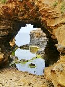 image of grotto  - The grotto is a sinkhole geological formation in Victoria in Australia - JPG