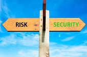 Risk versus Security messages