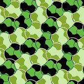 Green Seamless Tile Pattern