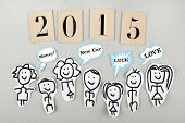 2015 New Year Expectations Concept