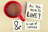 picture of handwriting  - coffee cup with  - JPG