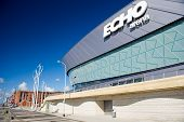 Echo Arena in Liverpool, England