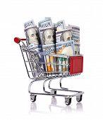Trolley With Dollar