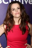 LOS ANGELES - DEC 15:  Emily Hampshire at the NBCUniversal Cable TCA Press Tour at the Huntington Langham Hotel on December 15, 2014 in Pasadena, CA