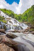 Maeya Waterfall Doi Inthanon National Park Thailand