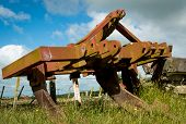 picture of ripper  - Old ground ripper used by an old steam tractor in days gone by - JPG