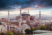 picture of constantinople  - Hagia Sophia in Istanbul - JPG