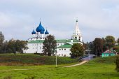 stock photo of paysage  - Architectural Complex of the Suzdalian Kremlin - JPG