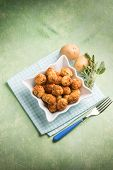 pic of meatball  - potatoes meatballs - JPG