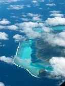 Tahiti From Above