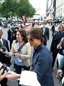 Tom Cruise At Knight And Day Premiere In Central London 22Nd July 2010