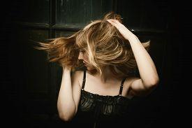 foto of blown-up  - Woman - JPG