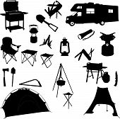 foto of hurricane clips  - imple Tourism and Holiday Vector Icon Set - JPG