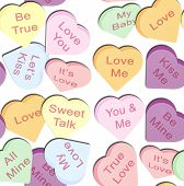 Repeating Hearts Pattern