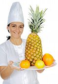 Happy Attractive Cook Woman poster