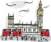 London Westminster illustration