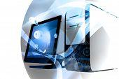 Computer Technology Mix - Blue