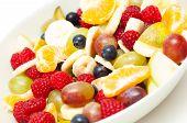 Freshly Made Fruit Salad