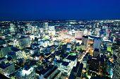 Sendai Train Station By Night