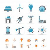 stock photo of wind energy  - power - JPG