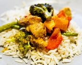 Anti-inflammatory Pan With Chicken And Vegetables poster