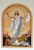 stock photo of risen  - Risen Christ - JPG