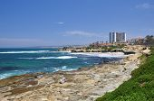Beautiful shoreline view